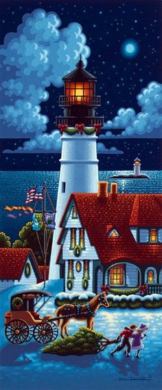 One of My Favorite Things:  Lighthouses