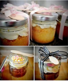 Cupcake in a Crock, a unique wedding favour idea featured on hitched.co.uk