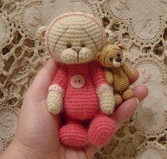 Crocheted Teddy Bear by Bearsnhares