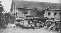 The Battle of Raseiniai, 1941, where a single KV tank stopped an entire German Kampfgruppe