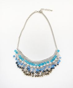This handmade bib necklace from India is perfect for the girl who lives for glam! #glam