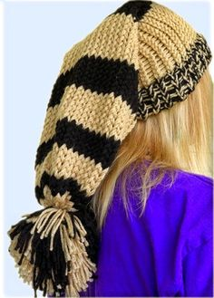 EasyMeWorld: How To Loom A Hat For Beginners...I don't know if I would wear this...