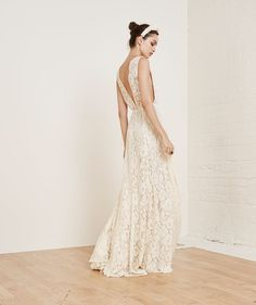 Pin for Later: If Kate Middleton's Your Bridal Icon, These Wedding Dresses Are For You  Reformation Francesca Dress ($488)