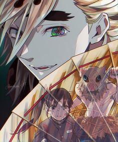 Read Kimetsu No Yaiba / Demon slayer full Manga chapters in English online! Otaku Anime, Manga Anime, Anime Guys, Anime Art, Anime Angel, Anime Demon, Demon Slayer, Slayer Anime, Anime Lindo