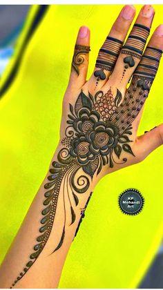 Modern Henna Designs, Floral Henna Designs, Indian Mehndi Designs, Mehndi Designs 2018, Mehndi Designs For Beginners, Mehndi Design Pictures, Mehndi Designs For Girls, Wedding Mehndi Designs, Mehndi Designs For Fingers