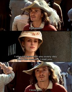 Pirates of the Caribbean. I love you.