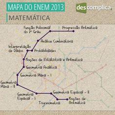 Tudo que você precisa saber em Matemática para arrasar no ENEM. Clique na imagem para acessar os conteúdos em vídeo.