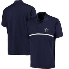 Dallas Cowboys Pique Daly Polo - Navy 02b26e184