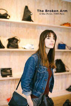 パリジェンヌ気分で楽しむ、週末パリ。starring Louise Follain   FASHION   ファッション   VOGUE GIRL