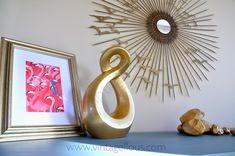 Vintagellous: DIY ESPEJO DE SOL VINTAGE Diy Canvas Frame, Starburst Mirror, Diy Mirror, Resin Crafts, Creative Ideas, Diy Ideas, Casa Retro, Furniture, Inktober