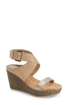 DONALD J PLINER 'Jaden' Platform Wedge Sandal (Women). #donaldjpliner #shoes #sandals