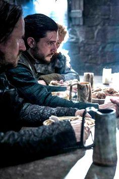 """""""Jon Snow & Sansa Stark / 6.04, """"Book of the Stranger"""" """""""