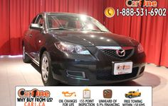 Pre-owned 2008 Mazda Mazda3 GX  @ CarOne Kingston.      Unheard of used vehicle financing starting at 0.9% & oil changes for life on select models! Free CarProof reports on all vehicles along with our standard 100 point inspection & certified on site 155 point inspections.    This 2008 Mazda Mazda3 GX is waiting and ready to go. Check it out at 1010 Centennial Drive  Kingston, Ontario or http://www.car1.ca.    http://car1.ca/inventory/kingston-2008-mazda-3-gx/