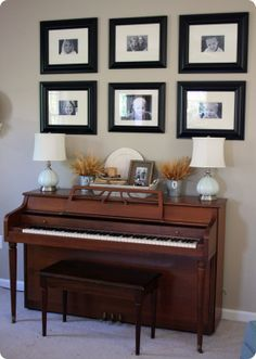 Home Decor on Pinterest   Piano, Candlesticks and The Piano