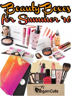 Best Beauty and Makeup Boxes for Summer 2016- they all ship worldwide