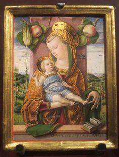 «Мадонна с Младенцем» Карло Кривелли