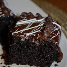 "Black Magic Cake | ""I've done quite a lot of baking in my life, which has included more cakes than I could count. This chocolate cake is one of the best I've ever made. Moist, fragrant,dark and with a rich chocolate flavor. It will become a classic go-to recipe for me. No reason to search for a better chocolate cake."""