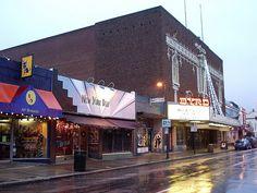 Carytown in Richmond, VA.