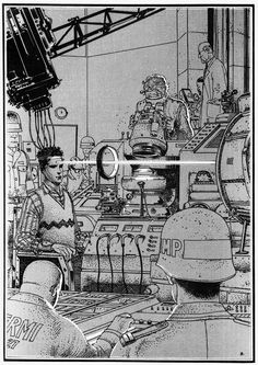 Hi there, I'm Kevin Funk: freelance fantasy/sci-fi drawing hustler. This is a personal account as well as a space where I post retro sci-fi/fantasy art that inspires me. Jean Giraud, Fantasy Comics, Fantasy Art, Storyboard, Manado, Frank Margerin, Illustrations, Illustration Art, Graphic Novels