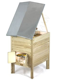 Honig Verkaufsbude