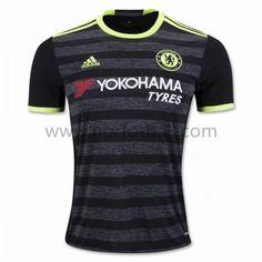 Chelsea Jersey Away Black Soccer Shirt Chelsea 2016, Fc Chelsea, Yokohama, Chelsea Clothing, Premier League, Jersey Atletico Madrid, Soccer Shirts, Soccer Jerseys, Sports