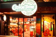 ニュージーランド発のオーガニッククッキー屋さん!!英語でオーダーor洋楽を歌うとクッキーが1枚もらえるらしい!!