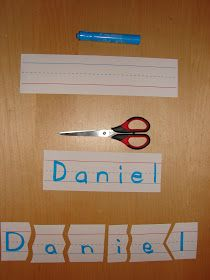 At Home with Kids: Name Puzzles