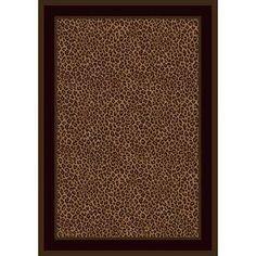 cheap leopard print area rug - Google Search