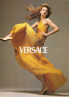 Versace fw 1995 by Richard Avedon and Carlyne Cerf