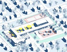 """Check out new work on my @Behance portfolio: """"EXTENSION AND ADAPTATION OF THE EXISTING SPECIAL SCHOOL"""" http://be.net/gallery/66184707/EXTENSION-AND-ADAPTATION-OF-THE-EXISTING-SPECIAL-SCHOOL"""