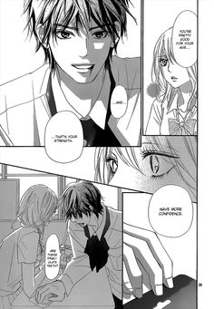 Kimi Ni Todoke Vol.023 Ch.097 - Pin and Yano would make a perfect couple!  He looks good with his hair down