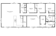 Wide range of kit home plans for the owner builder. Mecano kit homes makes construction simple with an easy to assemble high-tensile steel frame. Kit Homes, Steel Frame, Master Bath, House Plans, Sweet Home, Floor Plans, How To Plan, Sheds, Shed Houses