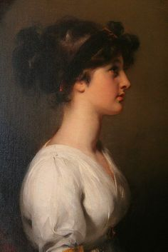The Honorable Caroline Upton -by Sir Thomas Lawrence.