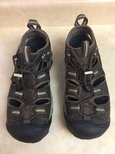 896d3a47d374 Keen Womens 1004147 Arroyo II Brown Leather Size 8.5 Hiking Sandal  Waterproof  fashion  clothing