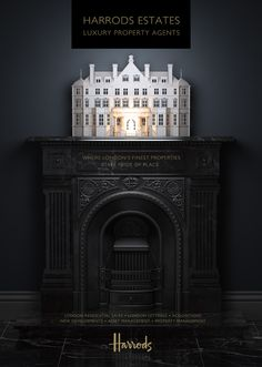 3D H Estates Luxury Property Agents - Advertising by Tim Cooper - 3D Image Creation, via Behance