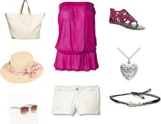 summer, created by cenco on Polyvore