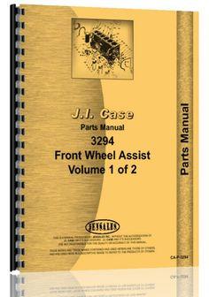 Case 3294 Tractor Parts Manual