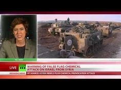 """Syrian Rebels Plan Chem Attack On Israel From Gov't Controlled Lands - RT... Published on Sep 9, 2013 - A chemical attack may be launched on Israel by Syrian rebels from gov't-controlled territories as a """"major provocation,"""" multiple sources told RT - READ MORE http://on.rt.com/guqpz0"""