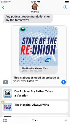 Castro for iMessage  Share podcast episodes and queue recommendations in iMessage