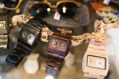 The beautiful WeWOOD Jupiter collection. www.we-wood.co.nz Square Watch, Wood Watch, Watches, Accessories, Beautiful, Collection, Wooden Clock, Wristwatches, Clocks
