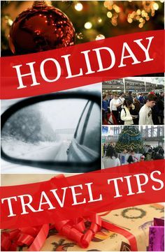 Holiday Travel Tips to help you when flying or driving this Christmas Season | StuffedSuitcase.com family travel tip