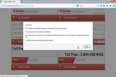 Mycomputererrorcheckup.com pop-ups est considéré comme un adware douteux et douteux qui causent de graves dommages à votre ordinateur.