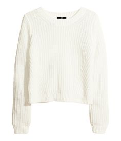 I'd rock the cropped cream sweater and the long pencil skirt! /Jourdan Dunn #HMTheNewIcons #HMFavourite #JourdanDunn
