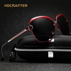 Cheap de sol, Buy Quality oculos de sol directly from China polaroid  eyewear Suppliers  HDCRAFTER Luxury Sunglasses Women 2017 Brand Designer  Large Sun ... 6b7f92b657