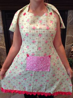 handmade one of a kind apron by KK4Fun on Etsy