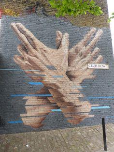Street art by James in London.