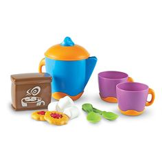 Amazon.com: Learning Resources New Sprouts Hot Cocoa Set: Toys & Games