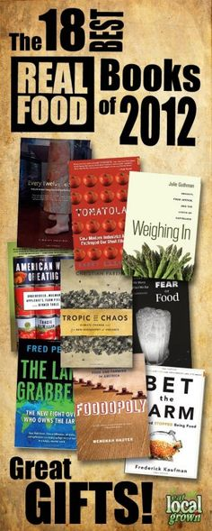 Best 'Real Food' Books of  2012