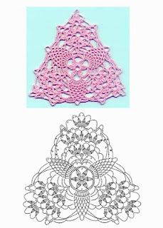 crochet - would look nice in green for a christmas tree or for a tree ornament
