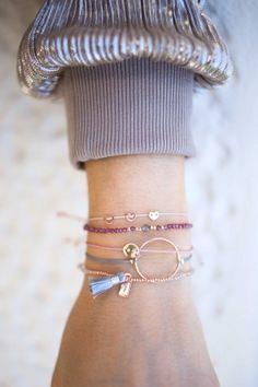 SENDING LOVE Armband rosé vergoldet #emoji # jewelry WWW.NEWONE-SHOP.COM